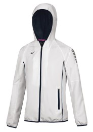 Womens Sports Jacket, MIZUNO M18, white