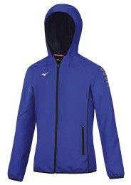 Damen Trainingsjacke, MIZUNO M18, blau