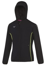 Womens Sports Jacket, MIZUNO M18, black