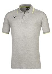 Mens Polo Shirt, MIZUNO M18, grey