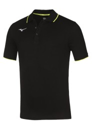 Mens Polo Shirt, MIZUNO M18, black