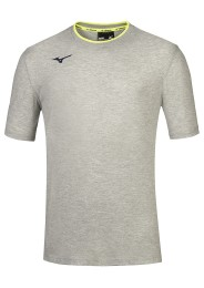 Mens T-Shirt, MIZUNO M18, grey