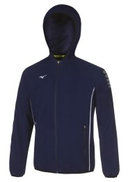 Mens Sports Jacket, MIZUNO M18, navy blue