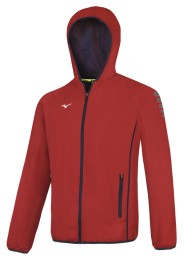 Mens Sports Jacket, MIZUNO M18, red