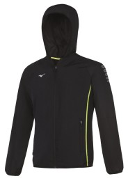 Mens Sports Jacket, MIZUNO M18, black
