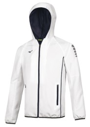 Mens Sports Jacket, MIZUNO M18, white