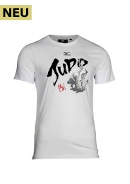 Kinder T-Shirt, MIZUNO JUDO Kids, weiss