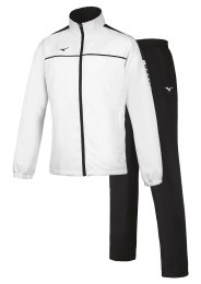 Mens Tracksuit, MIZUNO M18, white/black