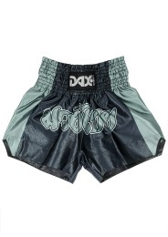 Muay Thai Shorts, DAX. black/grey