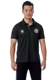 Polo Shirt, TOKAIDO Team, WKF, black
