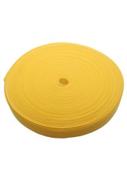 Budo belt coil, 50 m, yellow