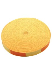 Budo belt coil, 50 m, yellow/orange