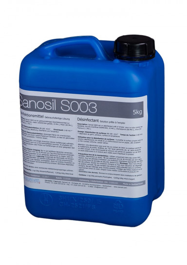 Surface Disinfectant, SANOSIL S003, 5 kg