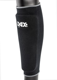 Shin Guard, DAX Elastic, black
