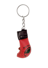 Key chain TOKAIDO FIST PROTECTOR, red