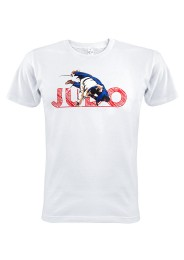 T-Shirt, Judo Competition Uchimata, weiss