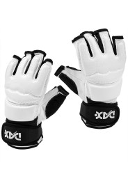 Taekwondo Gloves, FIT EVOLUTION, white