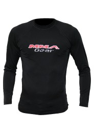 MMA Longsleeve, Rash Guard, black
