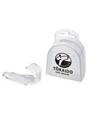 Karate mouth guard, TOKAIDO, transparent