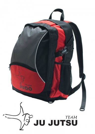 Backpack, DAX Power Ju-Jutsu, black/red