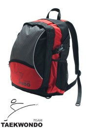 Backpack, DAX Power Taekwondo, black/red