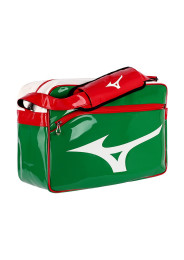 Messenger Bag, MIZUNO Enamel Bag, green/red/white