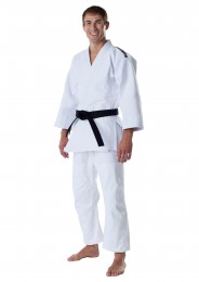 Competition Judogi, MOSKITO Slim Fit, white