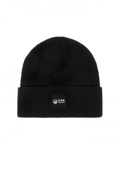 Winter hat, TOKAIDO Minimalism, black